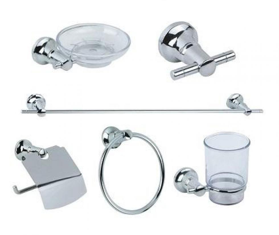 Griferia Para Baño Vindex:Set de accesorios de baño 6 piezas Grilef