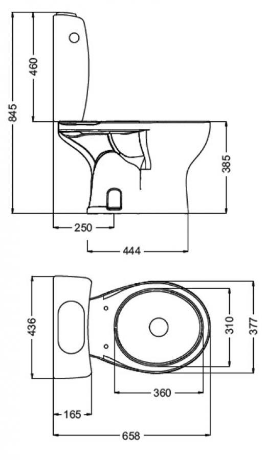 Inodoro con mochila atuel ferrum for Repuestos para mochila de inodoro ferrum